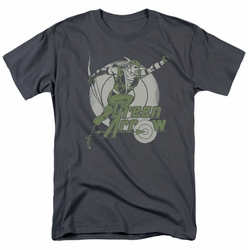 Green Arrow t-shirt Right on Target mens
