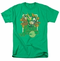Green Arrow t-shirt Stars mens kelly green