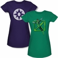 Green Lantern juniors t-shirt and tank tops