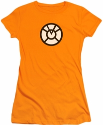 Green Lantern juniors t-shirt Agent Orange orange