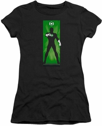 Green Lantern juniors t-shirt Block black
