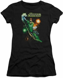 Green Lantern juniors t-shirt Galactic Guardian black