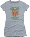Green Lantern juniors t-shirt Keeping It Green athletic heather