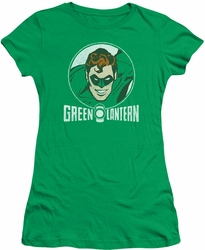 Green Lantern juniors t-shirt Lantern Circle kelly green