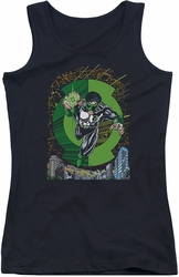Green Lantern juniors tank top Gl #51 Cover black