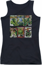 Green Lantern juniors tank top Gl Covers black