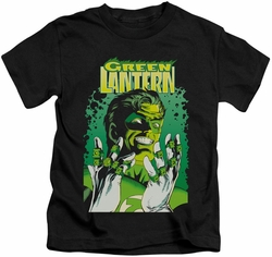 Green Lantern kids t-shirt #49 Cover black
