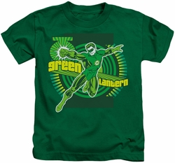 Green Lantern kids t-shirt Activate kelly green