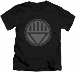 Green Lantern kids t-shirt Black Symbol black