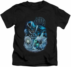 Green Lantern kids t-shirt Blackhand black