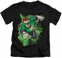 Green Lantern kids t-shirt Energy black