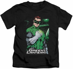 Green Lantern kids t-shirt Fist Flare black