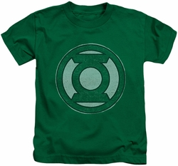 Green Lantern kids t-shirt Hand Me Down kelly green