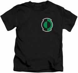 Green Lantern kids t-shirt Kyle Logo black