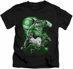 Green Lantern kids t-shirt Lantern Planet black