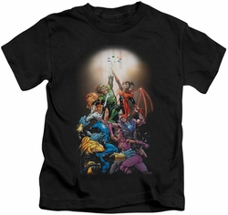 Green Lantern kids t-shirt New Guardians #1 black
