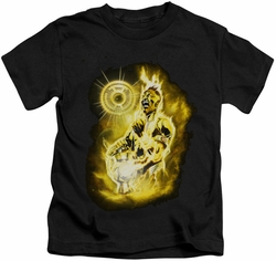 Green Lantern kids t-shirt Sinestro Nebula black