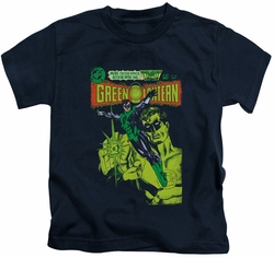 Green Lantern kids t-shirt Vintage Cover navy