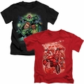 Green Lantern Kids t shirts