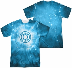 Green Lantern mens full sublimation t-shirt Blue Energy