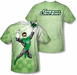Green Lantern mens full sublimation t-shirt Dynamic