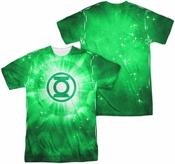 Green Lantern mens full sublimation t-shirt Green Energy