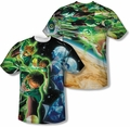 Green Lantern mens full sublimation t-shirt Guardians