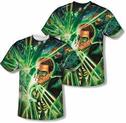 Green Lantern mens full sublimation t-shirt Lantern Burst