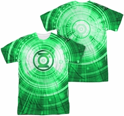 Green Lantern mens full sublimation t-shirt Radial
