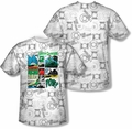 Green Lantern mens full sublimation t-shirt Sector Protecto