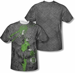 Green Lantern mens full sublimation t-shirt Vanquish Evil