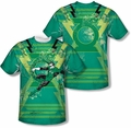 Green Lantern mens full sublimation t-shirt Weild The Logo