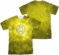 Green Lantern mens full sublimation t-shirt Yellow Energy