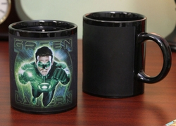 Green Lantern Movie GL Corps Thermal Mug