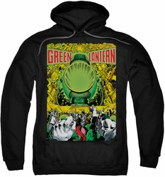 Green Lantern pull-over hoodie #200 Cover adult black