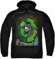 Green Lantern pull-over hoodie #51 Cover adult black