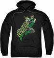 Green Lantern pull-over hoodie Among The Stars adult black