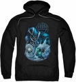 Green Lantern pull-over hoodie Blackhand adult black