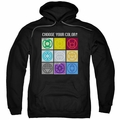 Green Lantern pull-over hoodie Choose Your Color adult black