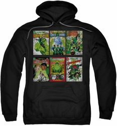 Green Lantern pull-over hoodie Covers adult black