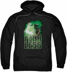Green Lantern pull-over hoodie Fearless adult black