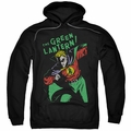 Green Lantern pull-over hoodie First adult black