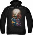 Green Lantern pull-over hoodie New Guardians #1 adult black