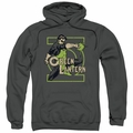 Green Lantern pull-over hoodie Ring Power adult charcoal