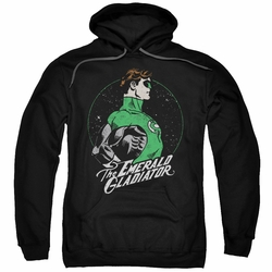 Green Lantern pull-over hoodie Star Gazer adult black