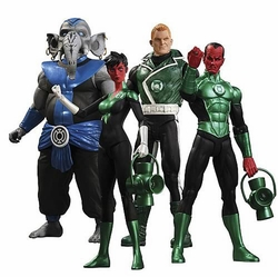 Green Lantern Series 5 action figures Set of 4