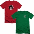 Green Lantern Slim Fit Mens T-shirts