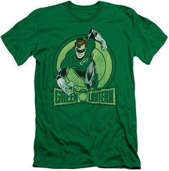 Green Lantern slim-fit t-shirt Action   mens kelly green