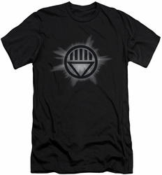 Green Lantern slim-fit t-shirt Black Glow mens black