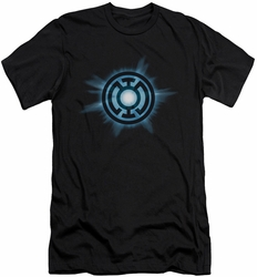 Green Lantern slim-fit t-shirt Blue Glow mens black